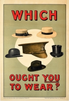 Which Ought You To Wear? Hats WWI Recruitment UK