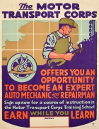 Motor Transport Corps WWI USA