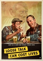 Loose Talk Can Cost Lives Dope WWII USA