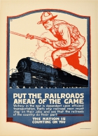 Railroads Ahead Of The Game WWI USA