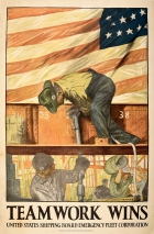 Teamwork Wins United States Shipping Board WWI